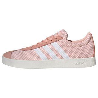adidas VL Court 2.0 Schuh Sneaker Damen Glow Pink / Cloud White / Running White