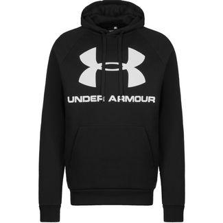 Under Armour Rival Fleece Sportstyle Logo Hoodie Herren schwarz