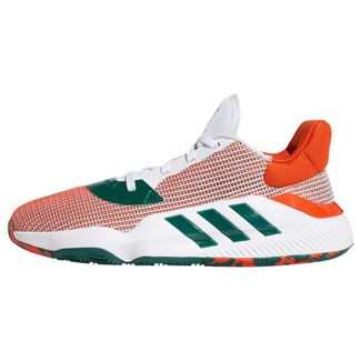 adidas Pro Bounce 2019 Low Schuh Sneaker Herren Cloud White / Grey Two / Team Orange
