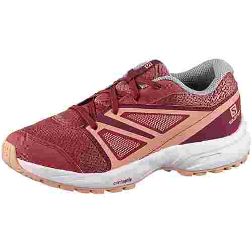 Salomon Sense Multifunktionsschuhe Kinder garnet rose-beet red-coral almond