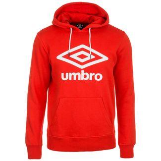 UMBRO Large Logo Hoodie Herren rot / weiß