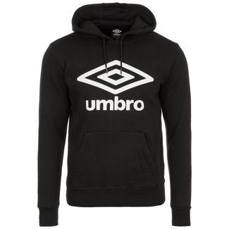 UMBRO Large Logo Hoodie Herren schwarz / weiß