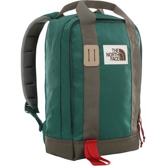 The North Face Rucksack Totepack Daypack night green-new taupe green