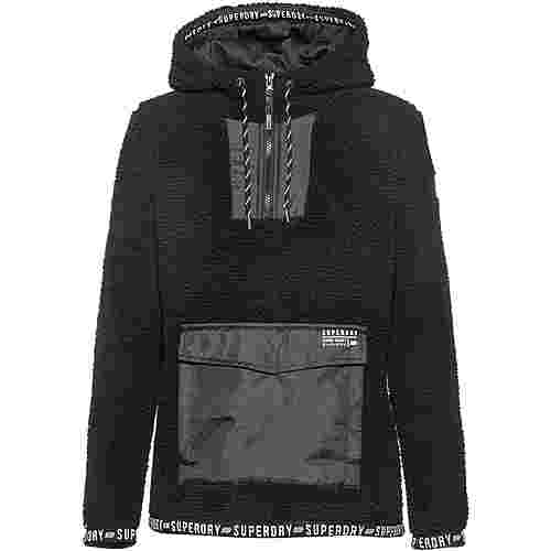 Superdry Fleecehoodie Damen noir
