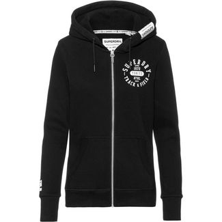 Superdry Sweatjacke Damen black