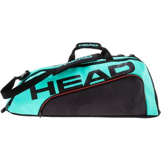 HEAD Tour Team 6R Combi Tennistasche schwarz