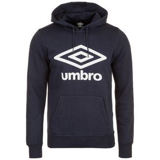 UMBRO Large Logo Hoodie Herren dunkelblau / weiß
