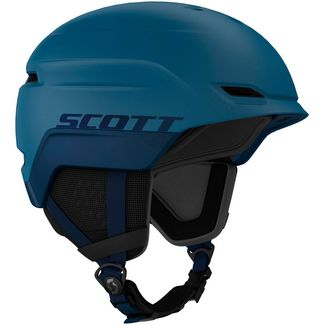 SCOTT Chase 2 Skihelm blue sapphire-orange