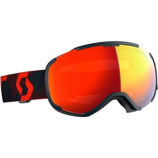 SCOTT Faze II LS Skibrille blue night-red