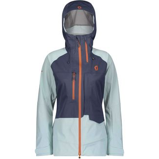 SCOTT Vertic 3L Skijacke Damen blue nights-cloud blue