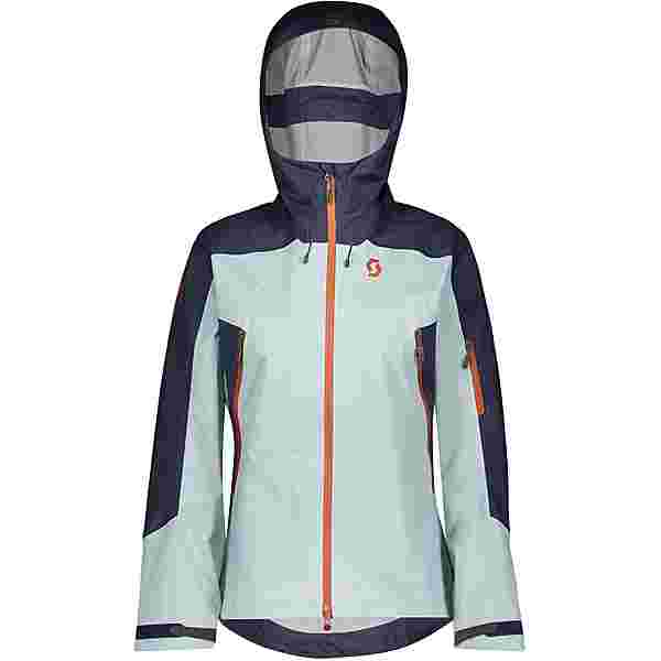SCOTT Explorair 3L Skijacke Damen blue nights-cloud blue