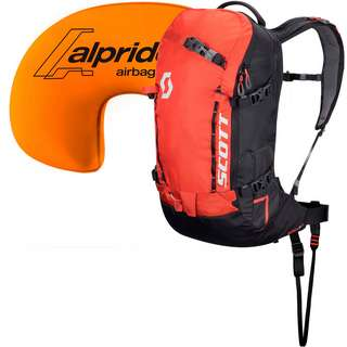 SCOTT Patrol E1 22 Lawinenrucksack burnt orange-black