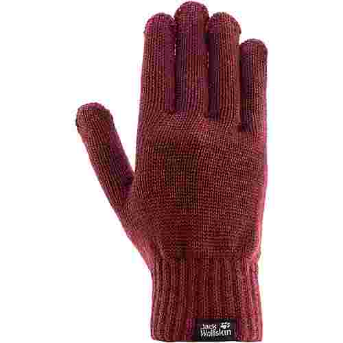 Jack Wolfskin MILTON GLOVE Fingerhandschuhe fall red