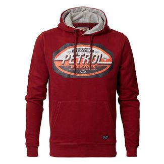 Petrol Industries Sweatshirt Herren Biking Red