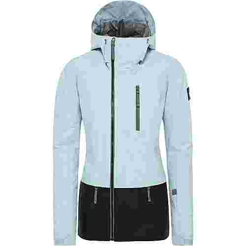 The North Face Superlu Skijacke Damen cloud blue-tnf black
