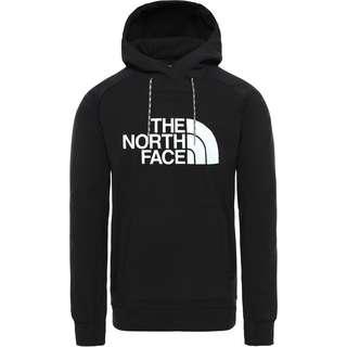The North Face Logo Hoodie Herren tnf black