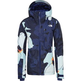 The North Face Descendit Skijacke Damen flag blue rom print
