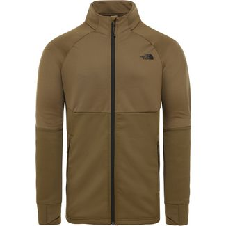 The North Face Croda Rossa Fleecejacke Herren military olive