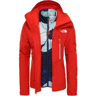 The North Face Garner Triclimate Skijacke Damen fiery red