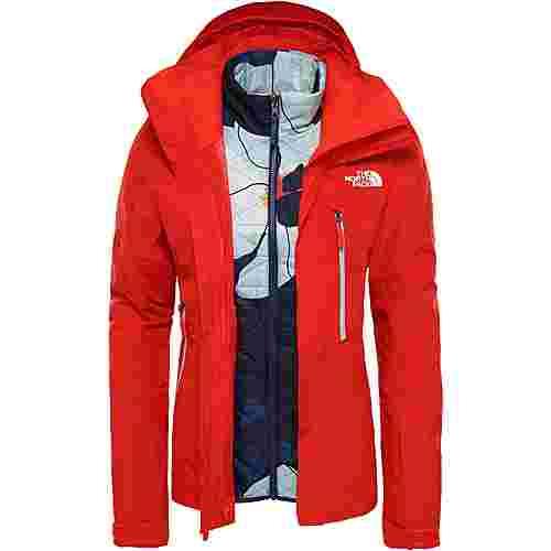 The North Face Garner Triclimate Skijacke Damen fiery red