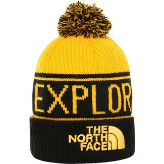 The North Face Retro Bommelmütze tnf yellow-tnf black