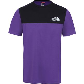 The North Face Himalayan T-Shirt Herren hero purple-tnf black