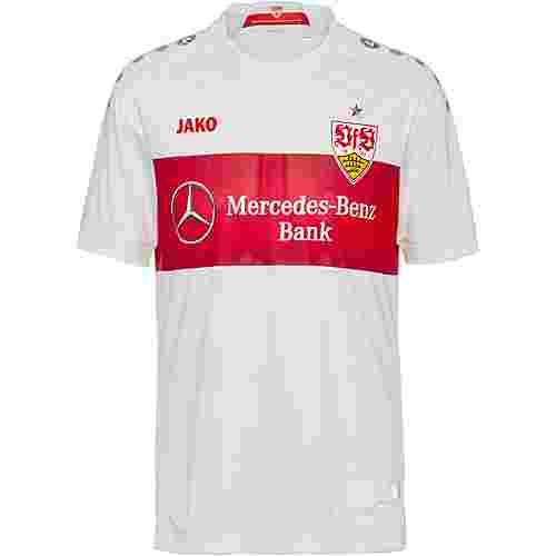JAKO VfB Stuttgart 19/20 Heim Fußballtrikot Herren weiß