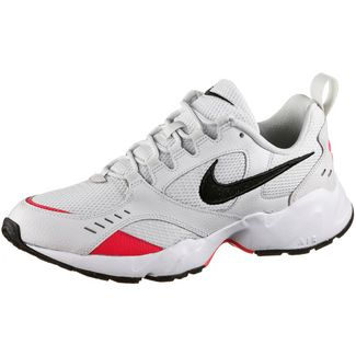 Nike Air Heights Sneaker Herren platinum tint-black-red orbit-white