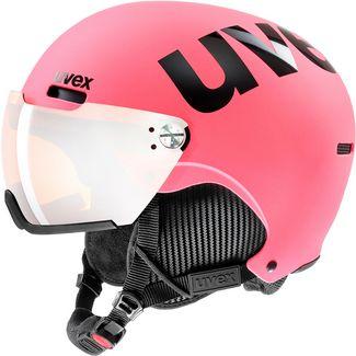 Uvex hlmt 500 visor Visierhelm pink matt
