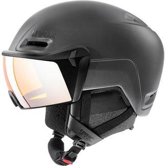 Uvex hlmt 700 visor Skihelm black mat