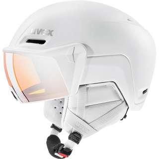 Uvex hlmt 700 visor Skihelm white mat