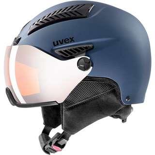 Uvex hlmt 600 visor Skihelm blue mat