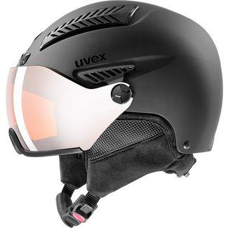 Uvex hlmt 600 visor Skihelm black mat