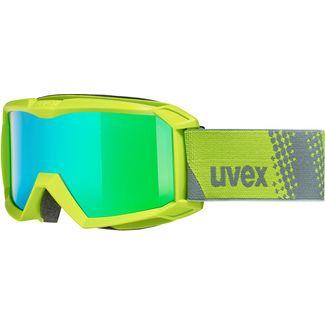 Uvex flizz FM Skibrille Kinder lime