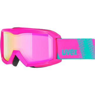 Uvex flizz FM Skibrille Kinder pink