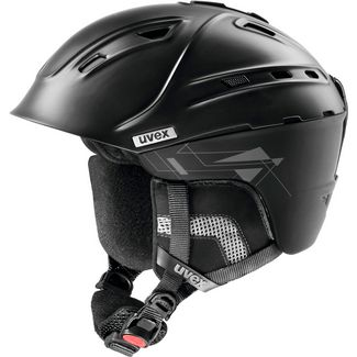 Uvex p2us Skihelm black mat