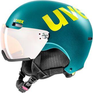 Uvex hlmt 500 visor Visierhelm deep emerald mat
