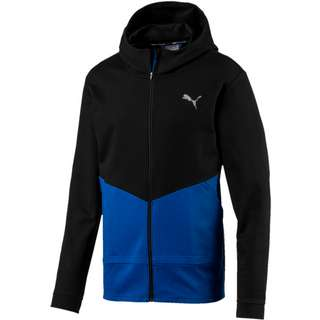 PUMA Reactive FZ Jacket Sweatjacke Herren puma black-galaxy blue