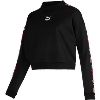 PUMA Trend Sweatshirt Damen cotton black