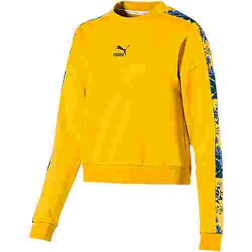 PUMA Trend Sweatshirt Damen sulphur