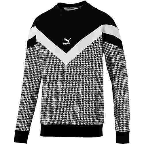 PUMA Trend Sweatshirt Herren cotton black-houndstooth