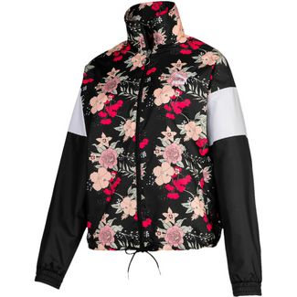PUMA Trend Polyjacke Damen puma black-floral