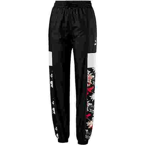 PUMA Trend Trainingshose Damen puma black-floral