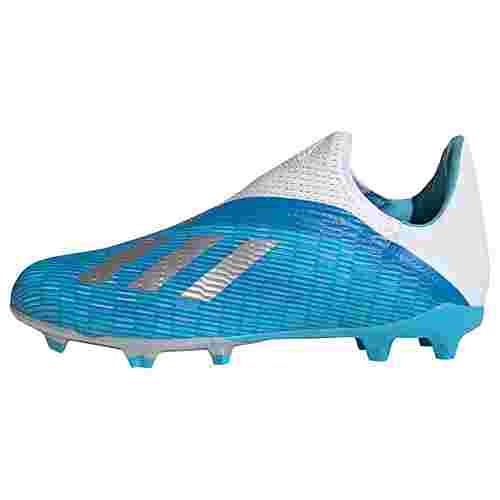 adidas Fußballschuhe Kinder Bright Cyan / Silver Met. / Shock Pink