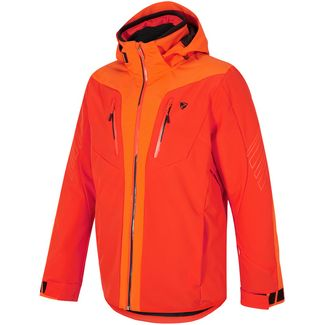 Ziener Twomile Skijacke Herren new red-bright orange