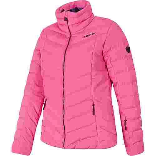Ziener Talma Skijacke Damen pink dahlia