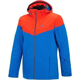 Ziener Toccoa Skijacke Herren true blue-new red
