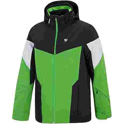 Ziener Toccoa Skijacke Herren spring green-black