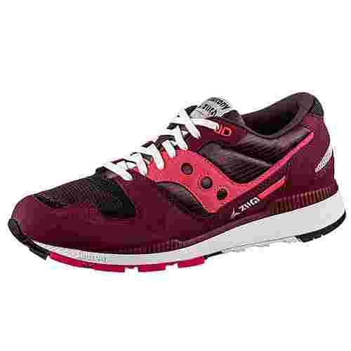 Saucony Azura Sneaker Herren maroon-pink