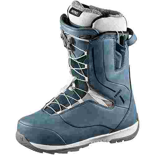 Nitro Snowboards CROWN TLS ´19 Snowboard Boots Damen blue